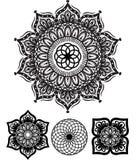Teste padrão redondo do ornamento Ilustração Royalty Free