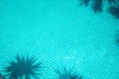 Teste padrão refletido na água Imagens de Stock Royalty Free