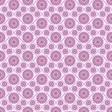 Teste padrão regular sem emenda com flores cor-de-rosa Fundo regular fotografia de stock