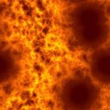 Teste padrão rendido Digital do fogo ilustração do vetor