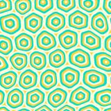 Teste padrão repetitivo sem emenda do vetor do tecido orgânico das pilhas ilustração royalty free