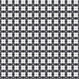 Teste padrão retro com preto e branco cinzento Fotografia de Stock