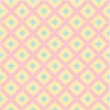 Teste padrão retro de fôrmas geométricas Vetor, eps-10 Fotografia de Stock Royalty Free