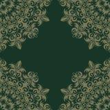 Teste padrão retro do azulejo do vintage Teste padrão da telha do vetor antique ilustração royalty free