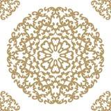 Teste padrão retro do azulejo do vintage Teste padrão da telha do vetor antique ilustração do vetor