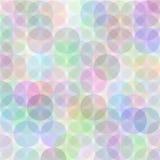 Teste padrão retro do círculo Imagens de Stock Royalty Free