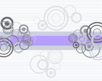 Teste padrão retro do círculo Imagem de Stock Royalty Free