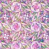Teste padrão retro do vetor de formas geométricas Textura abstrata sem emenda Eps 10 Foto de Stock Royalty Free