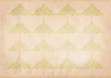Teste padrão retro do xmas Imagens de Stock Royalty Free