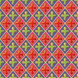 Teste padrão retro doce, ilustração do vetor Eps8. Fotos de Stock