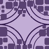 Teste padrão retro dos lilas Fotos de Stock