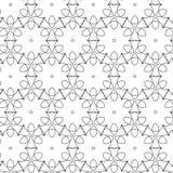 Teste padrão retro dos sacros primitivos do geometria com linhas e círculos Fotos de Stock