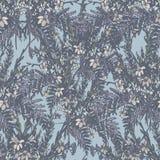 Teste padrão retro floral Foto de Stock