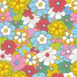 Teste padrão retro floral