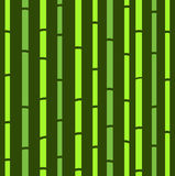 Teste padrão retro natural verde sem emenda de bambu. Fotos de Stock Royalty Free