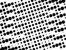 Teste padrão retro preto e branco Fotografia de Stock