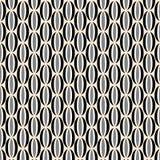 Teste padrão retro preto e branco Imagens de Stock Royalty Free