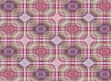 Teste padrão retro roxo da manta ilustração stock