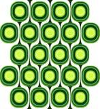 Teste padrão retro verde foto de stock royalty free