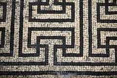 Teste padrão romano de Abstact do mosaico ilustração stock