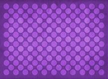 Teste padrão roxo dos círculos do vintage Imagem de Stock