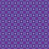 Teste padrão roxo e azul das cores Foto de Stock
