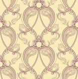 Teste padrão roxo retro Fotografia de Stock