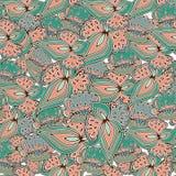 Teste padrão samless floral Fotografia de Stock Royalty Free