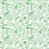 Teste padrão saudável do alimento ilustração stock