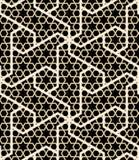 Teste padrão sem emenda árabe ilustração do vetor