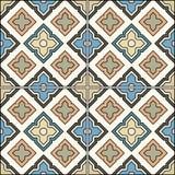 Teste padrão sem emenda árabe do vintage Imagem de Stock Royalty Free