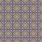 Teste padrão sem emenda étnico abstrato Cópia tribal do boho da arte, ornamento tirado mão Textura do fundo, papel de parede, env Fotos de Stock Royalty Free