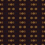 Teste padrão sem emenda étnico geométrico Fotografia de Stock
