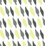Teste padrão sem emenda abstrato, borrões cinzentos e verde-oliva e ponto ilustração do vetor