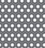 Teste padrão sem emenda abstrato com cubos Fotos de Stock
