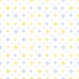Teste padrão sem emenda abstrato com estrelas Fotografia de Stock