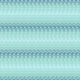 Teste padrão sem emenda abstrato com ondas azuis Fotografia de Stock Royalty Free