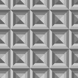 Teste padrão sem emenda abstrato composto de formas geométricas nas máscaras Fotos de Stock Royalty Free