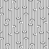 Teste padrão sem emenda abstrato da luz descascada da geometria Imagem de Stock Royalty Free