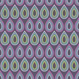 Teste padrão sem emenda abstrato das gotas textura à moda moderna Repetindo telhas geométricas fotografia de stock