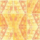 Teste padrão sem emenda abstrato das linhas, mosaico do fundo Fotografia de Stock Royalty Free