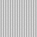 Teste padrão sem emenda abstrato das ondas Fundo infinito do vetor Contexto ondulado Fotografia de Stock