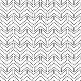 Teste padrão sem emenda abstrato das setas Fotografia de Stock