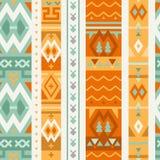Teste padrão sem emenda abstrato de Ethno Fundo tribal à moda Imagem de Stock Royalty Free