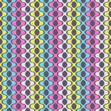 Teste padrão sem emenda abstrato de formas geométricas simétricas fotos de stock royalty free