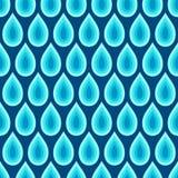 Teste padrão sem emenda abstrato de gotas da água Textura elegante à moda moderna fotos de stock