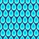 Teste padrão sem emenda abstrato de gotas da água Textura elegante à moda moderna foto de stock royalty free