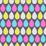 Teste padrão sem emenda abstrato de gotas da cor Textura elegante à moda moderna fotos de stock