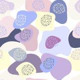 Teste padrão sem emenda abstrato do colorido brilhantemente Foto de Stock