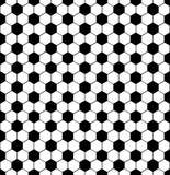 Teste padrão sem emenda abstrato do futebol Imagem de Stock